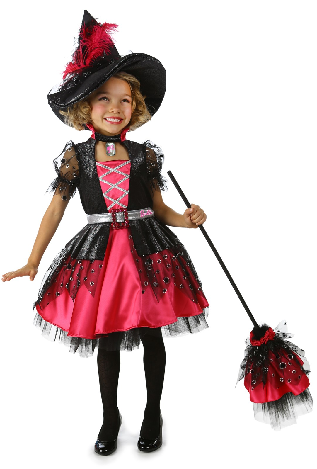 Deluxe Barbie Witch Girls Costume Small (6)