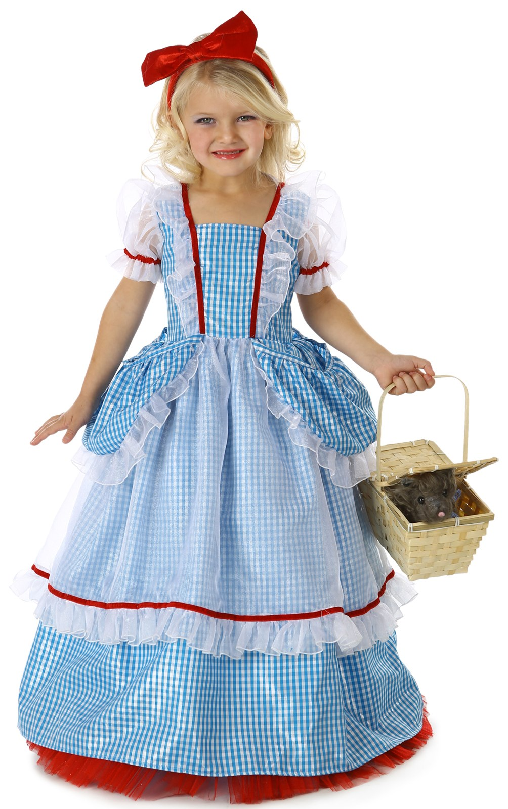 Wizard of Oz Princess Deluxe Dorothy Costume X-Small (4)