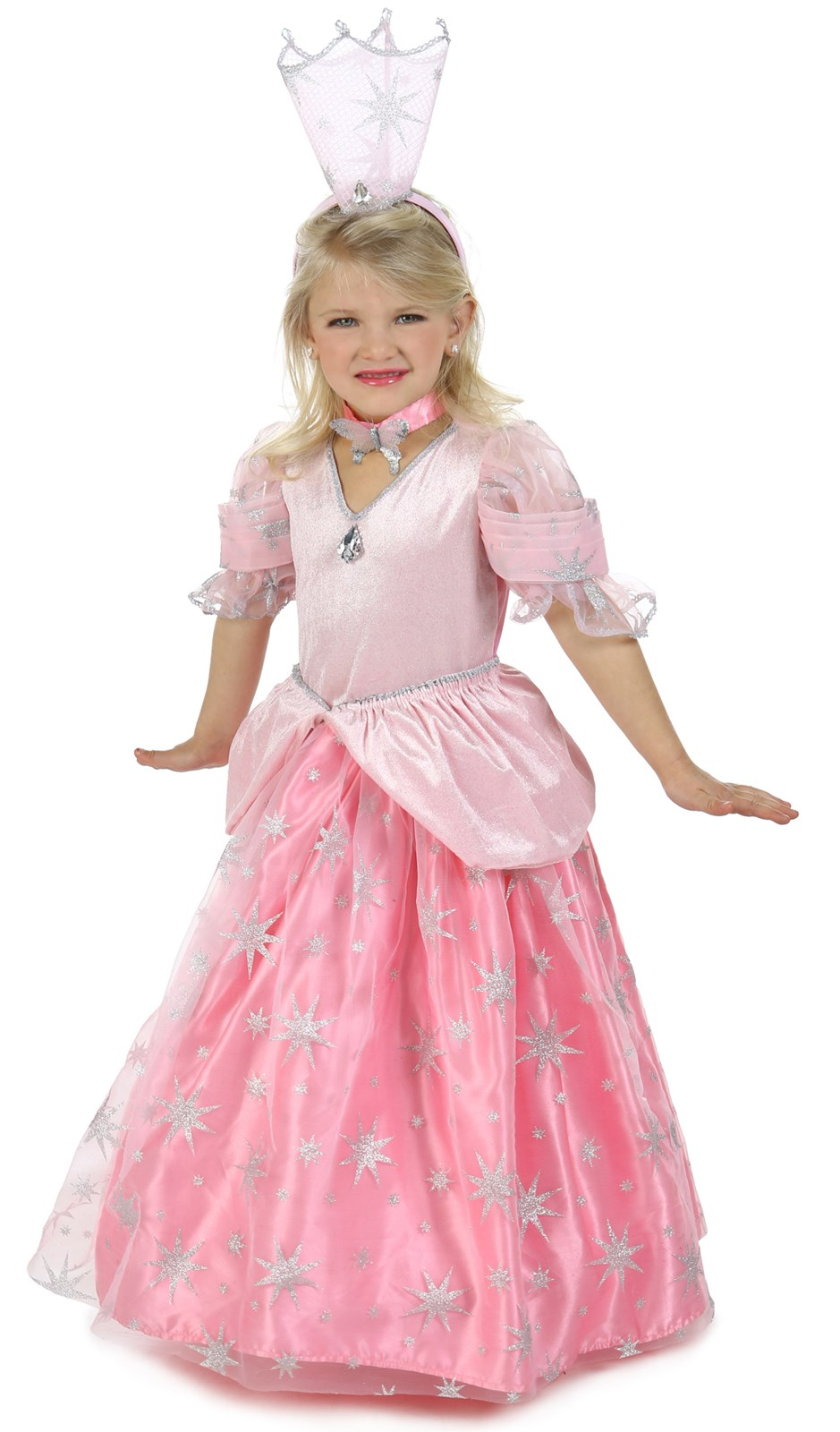 Wizard of Oz Princess Deluxe Glinda Costume Large (10)