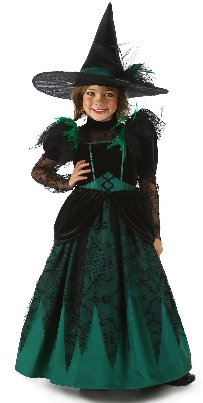 Wizard of Oz Princess Deluxe Wicked Witch of the West Costume Small (6)