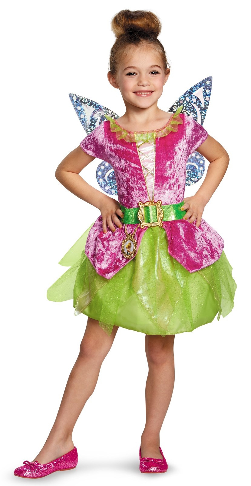 Tinker Bell and The Pirate Fairy - Pirate Tink Girls Costume 4-6