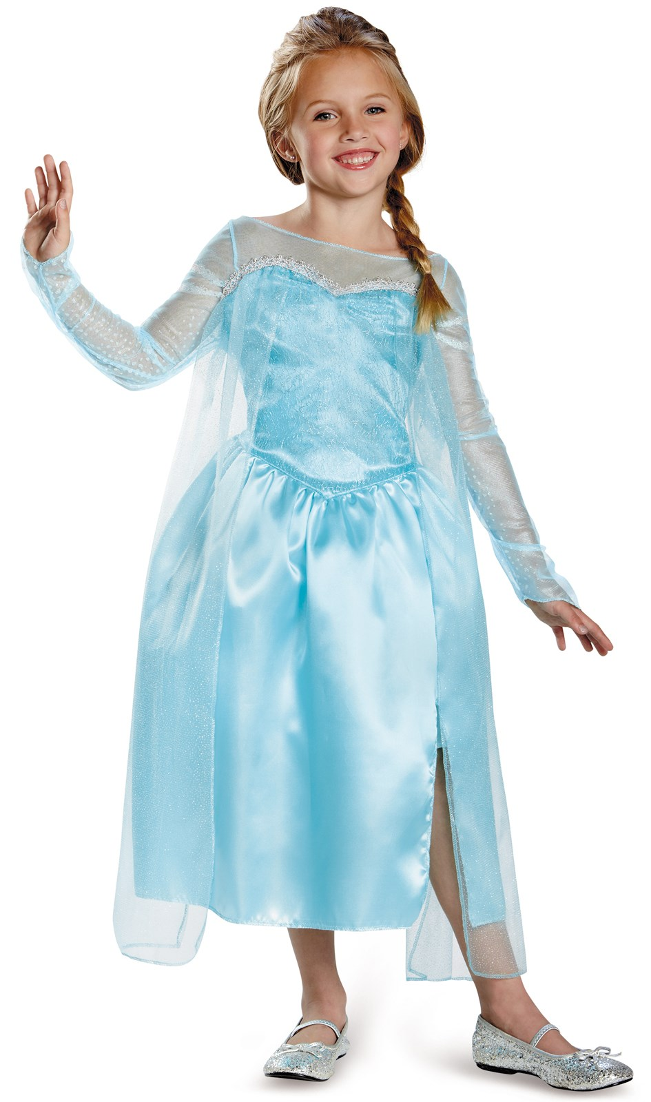 Frozen - Elsa Snow Queen Girls Costume 4-6