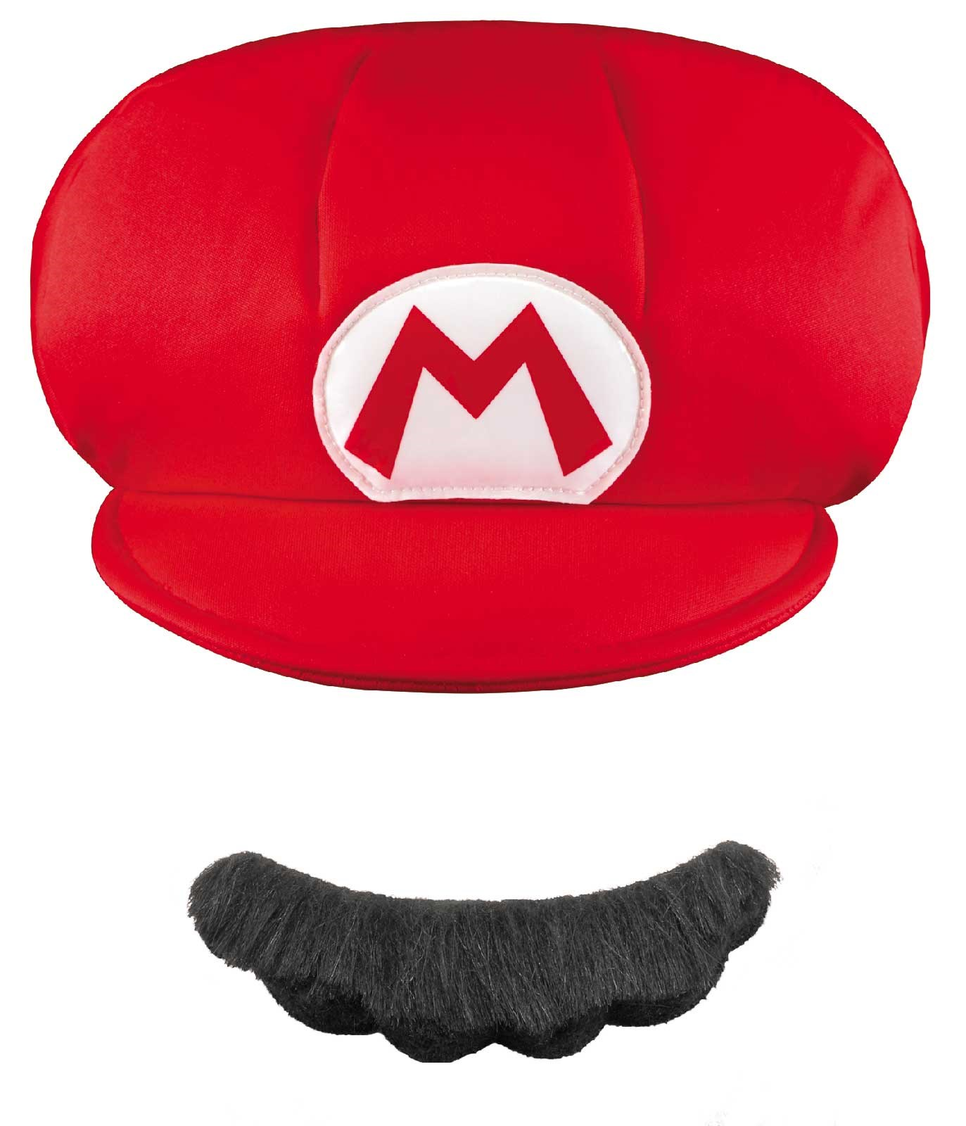 Super Mario Brothers Mario Child Hat Mustache One-Size