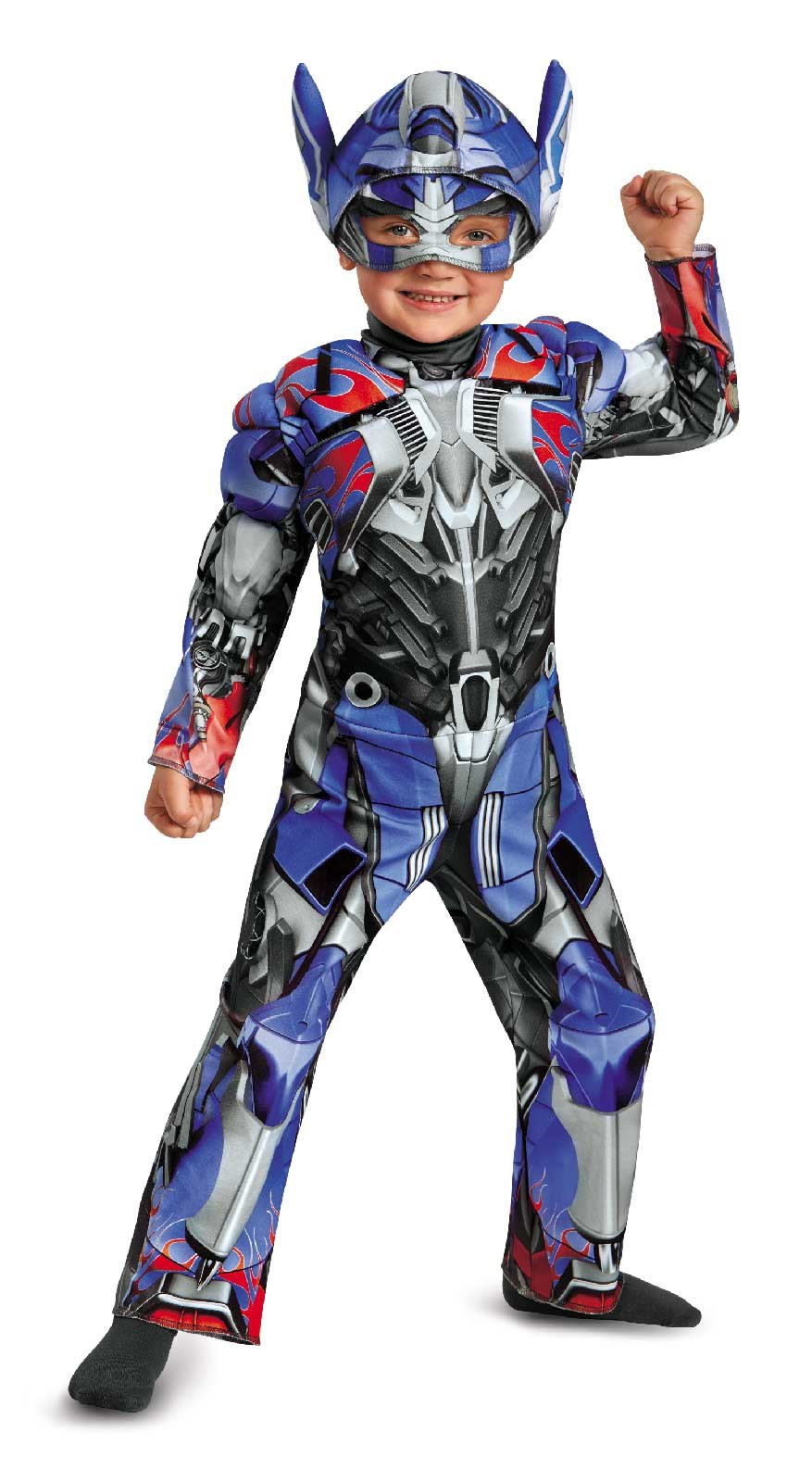 Transformers Age of Extinction Optimus Prime Toddler Muscle Costume 3T-4T