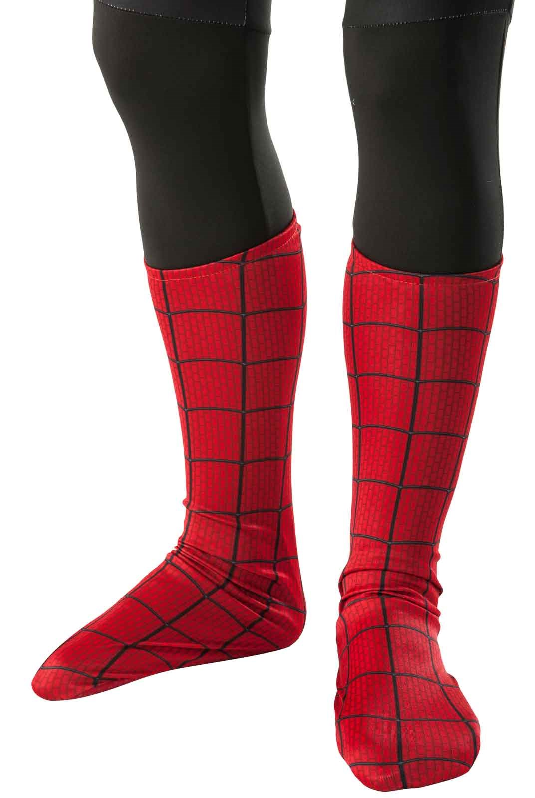 New Official The Amazing Spider-Man 2 Movie Kids Boot Covers Standard One-Size