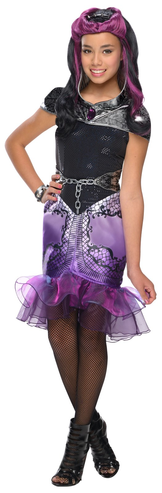 Ever After High - Girls Raven Queen Costume X-Large (14-16)