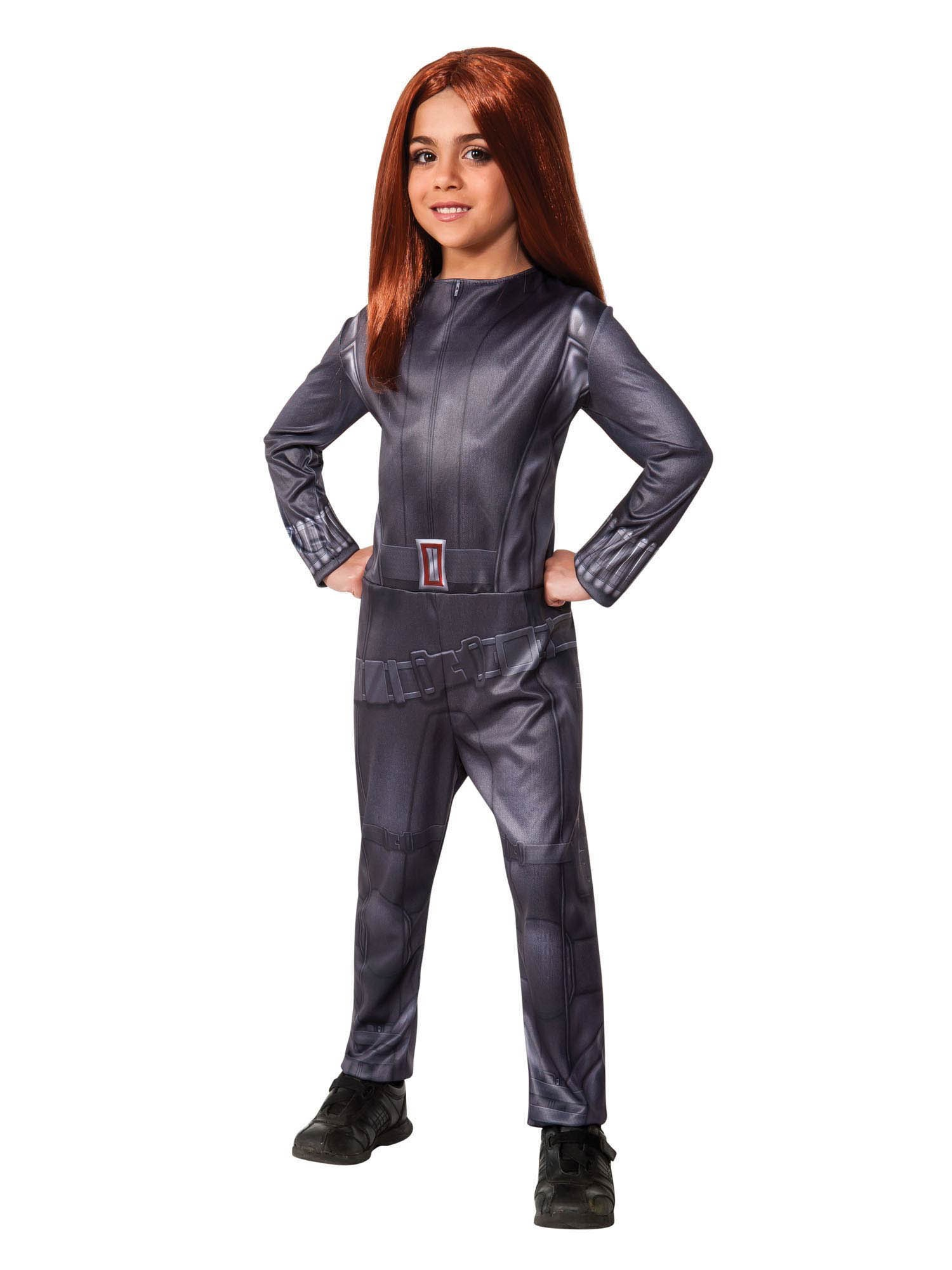 Captain America Winter Soldier - Black Widow Kids Costume Medium (8-10)