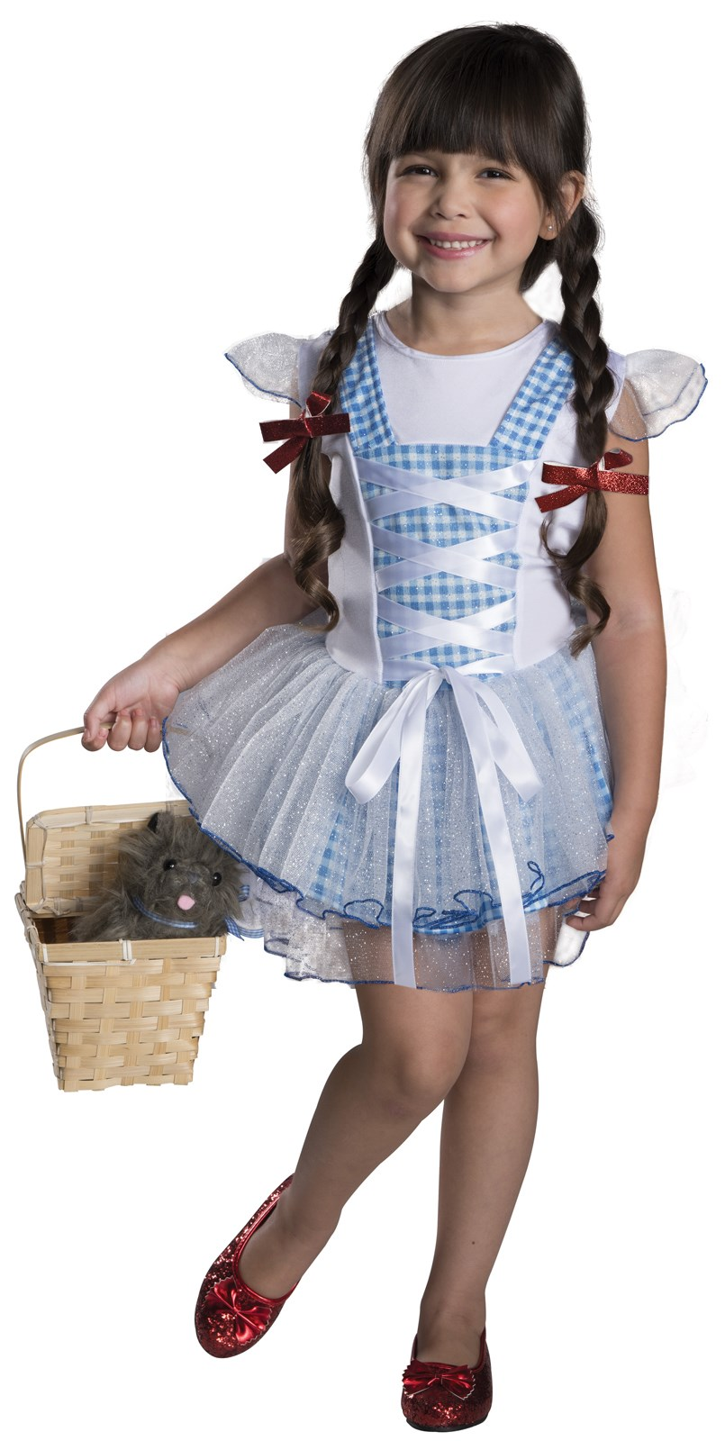 Wizard of Oz - Dorothy Tutu Child Costume Toddler (2-4)