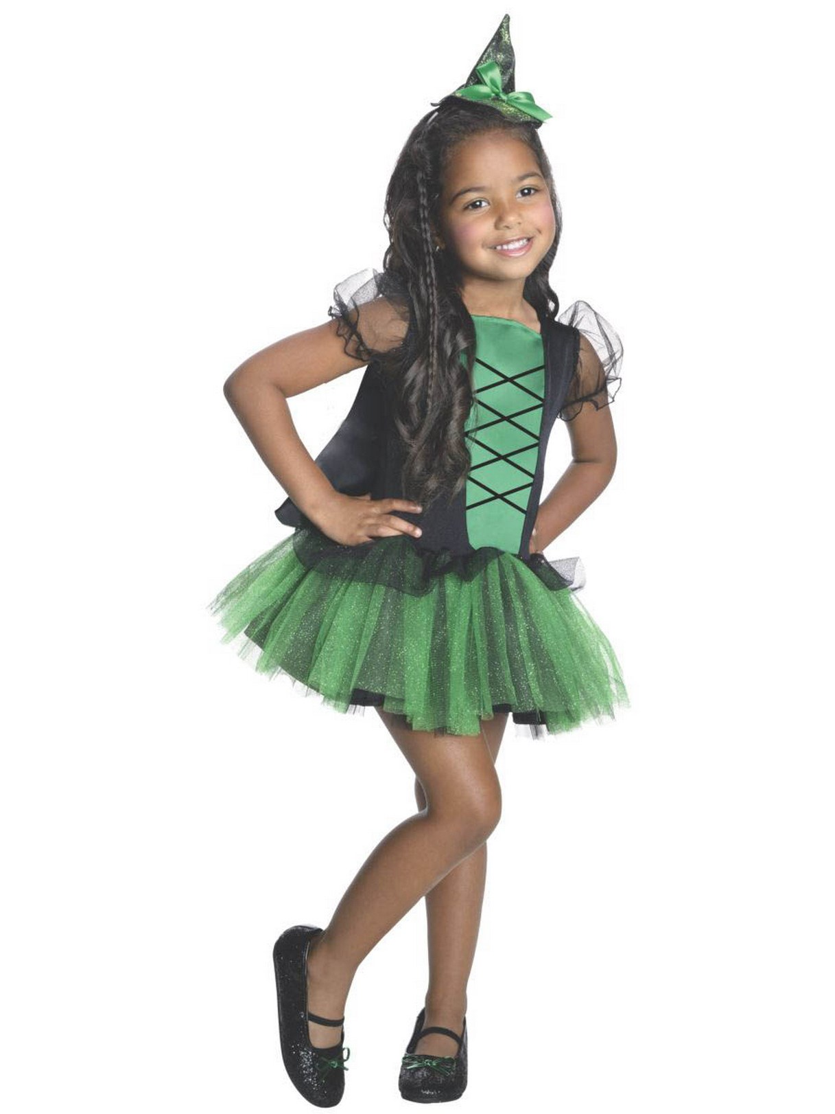 Wizard of Oz - Wicked Witch of the West Kids Tutu Costume Small (4-6)