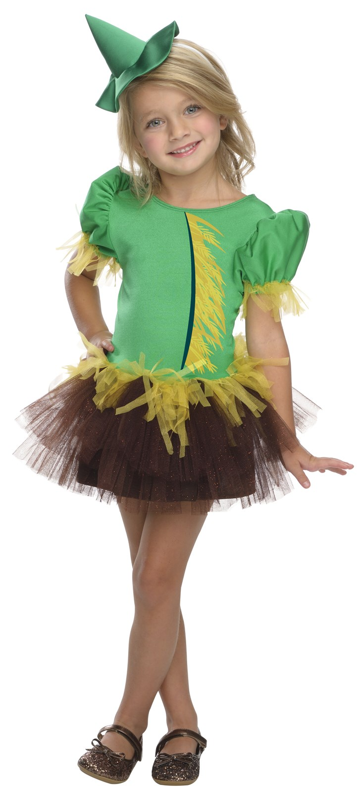 Wizard of Oz - Scarecrow Tutu Child Costume Toddler (2-4)