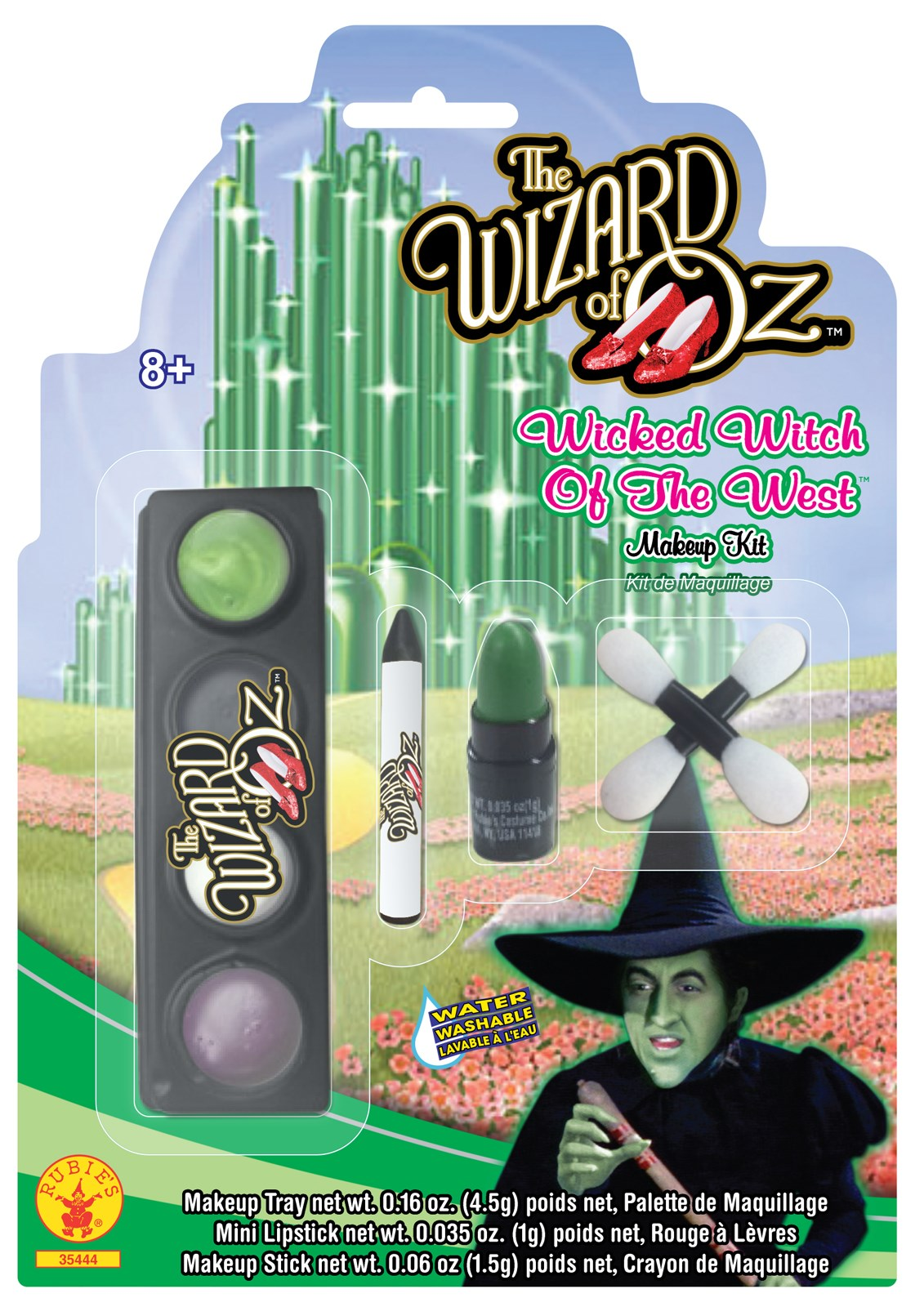Wizard of Oz - Wicked Witch Child Makeup Kit