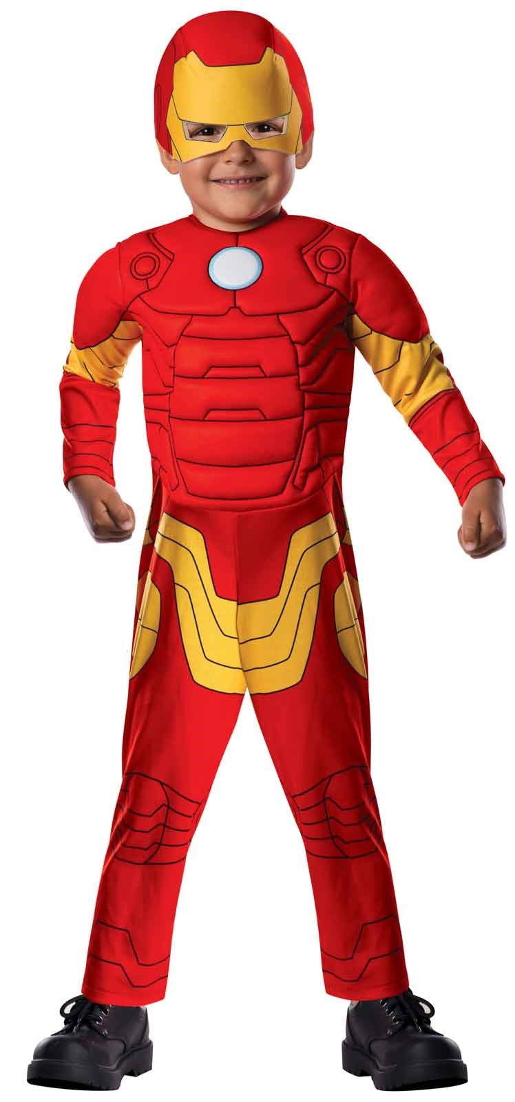 Avengers Assemble Iron Man Toddler Boy Costume Toddler (2-4)