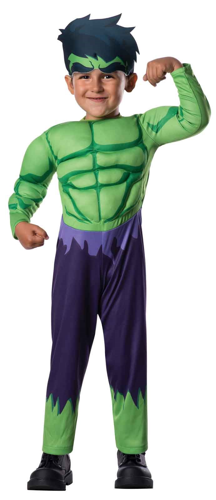Avengers Assemble Hulk Toddler Boy Costume Toddler (2-4)