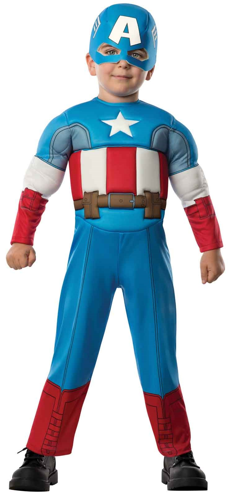 Avengers Assemble Captain America Toddler Boy Costume Toddler (2-4)