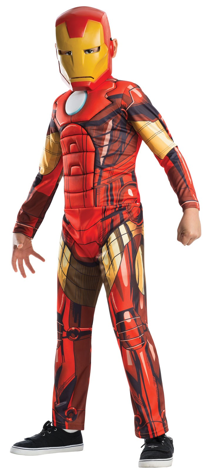 Avengers Assemble Deluxe Iron Man Child Costume Large (12-14)