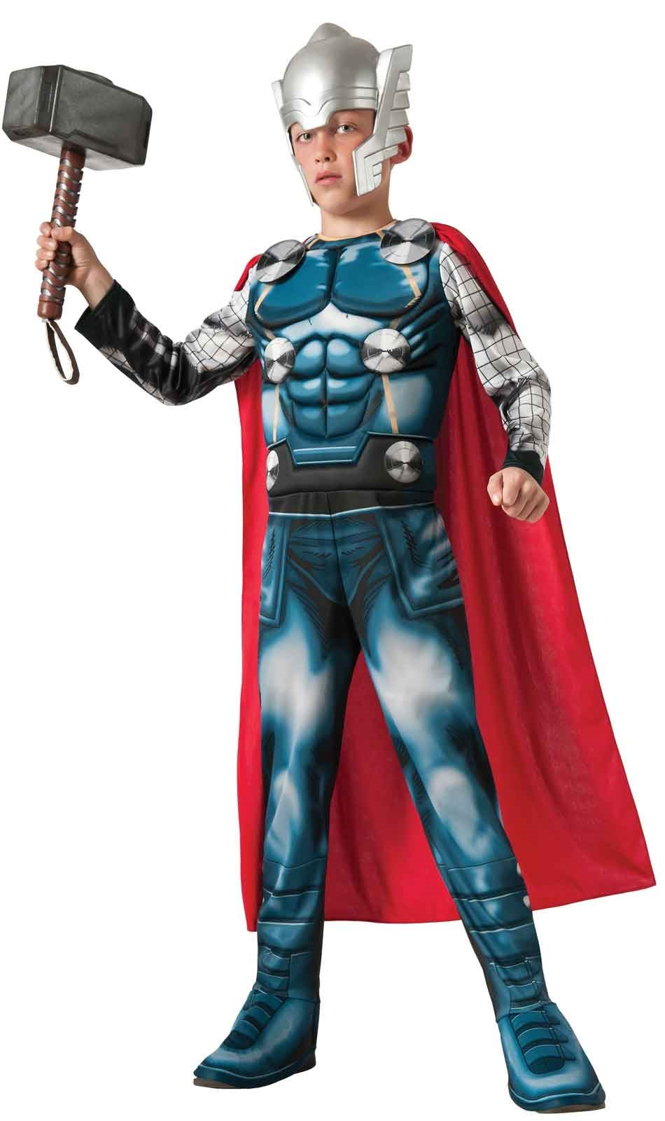 Avengers Assemble Deluxe Thor Child Costume Large (12-14)