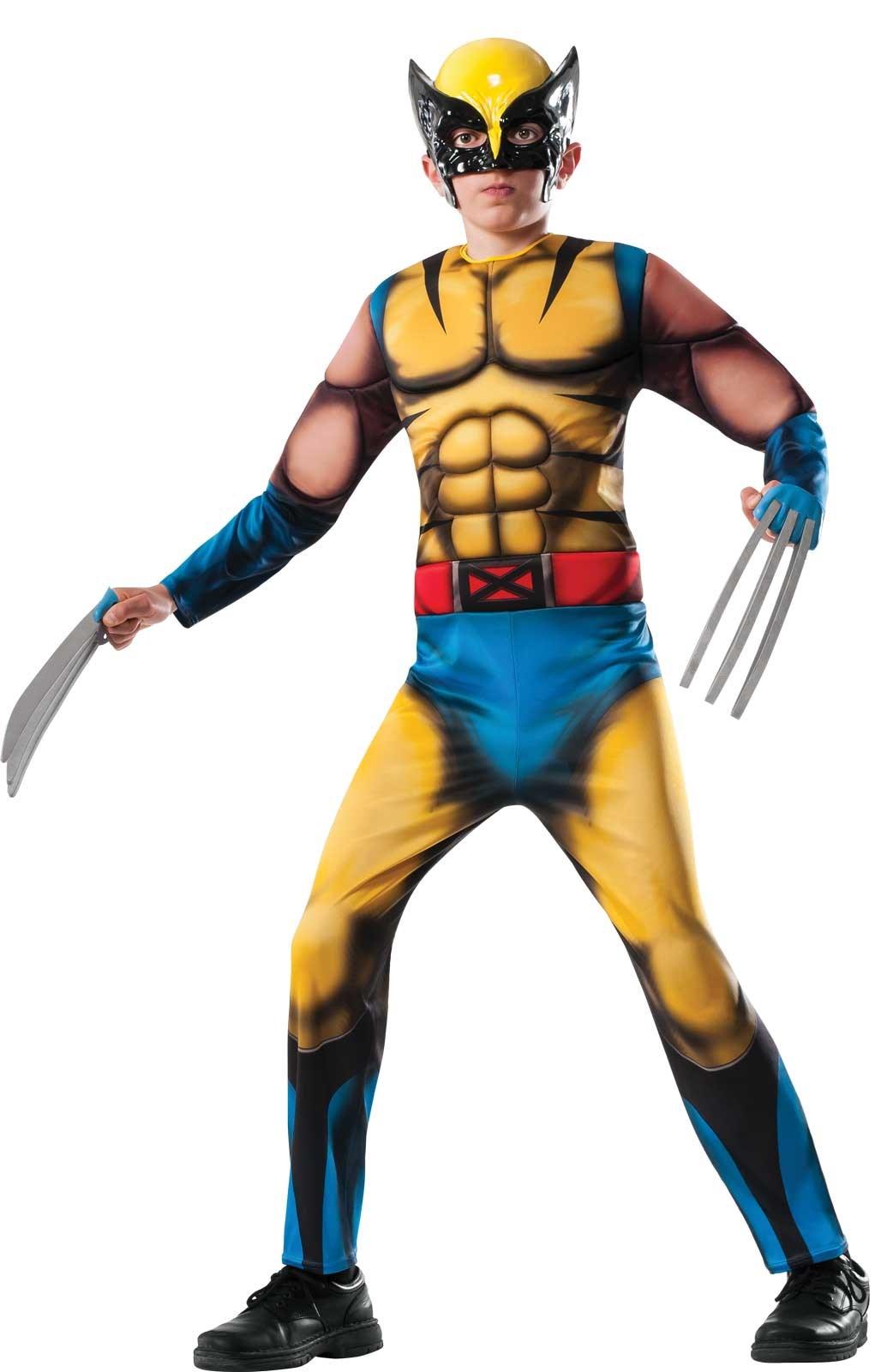 Marvel Deluxe Wolverine Child Costume Medium (8-10)
