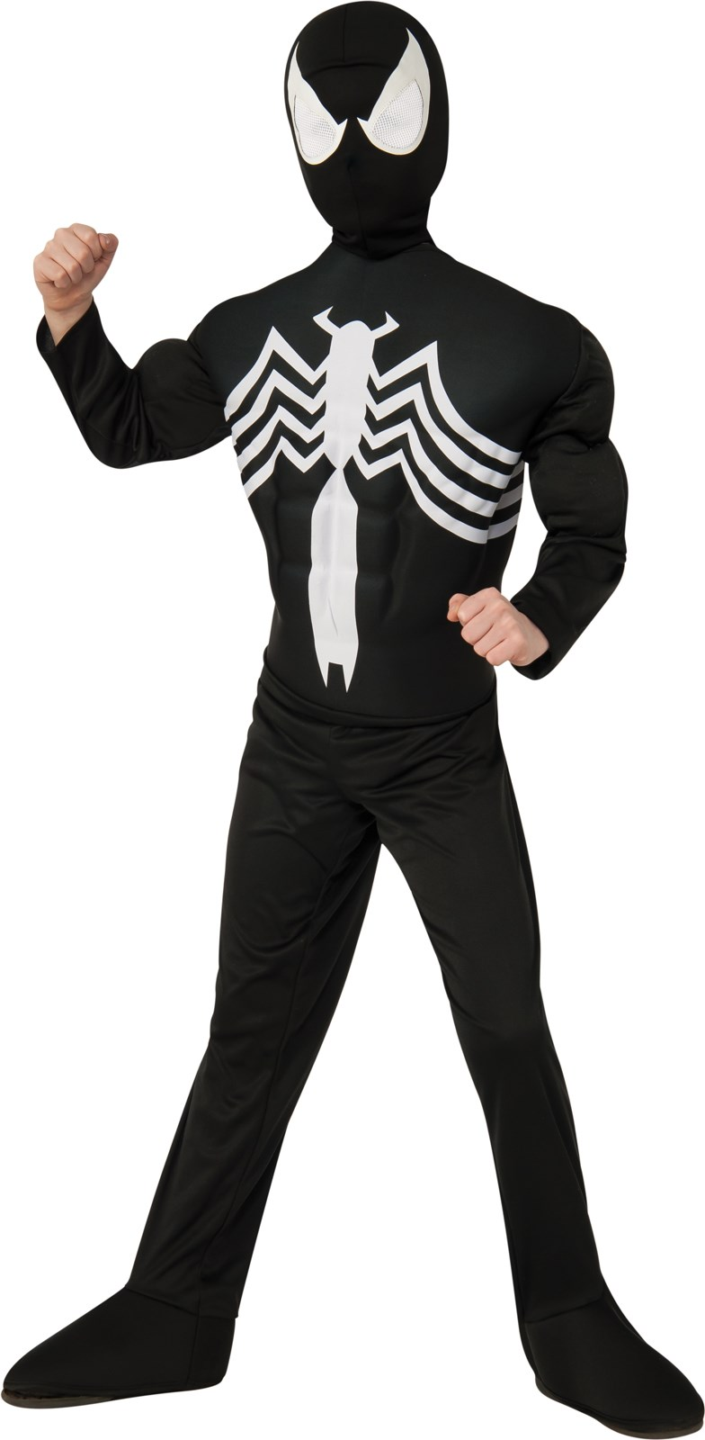 Ultimate Black Spider-Man Muscle Chest Child Costume Large (12-14)