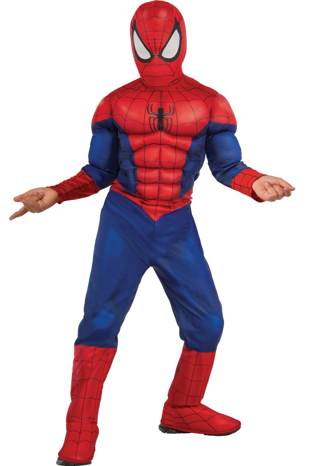 Ultimate Spider-Man Muscle Chest Child Costume Small (4-6)