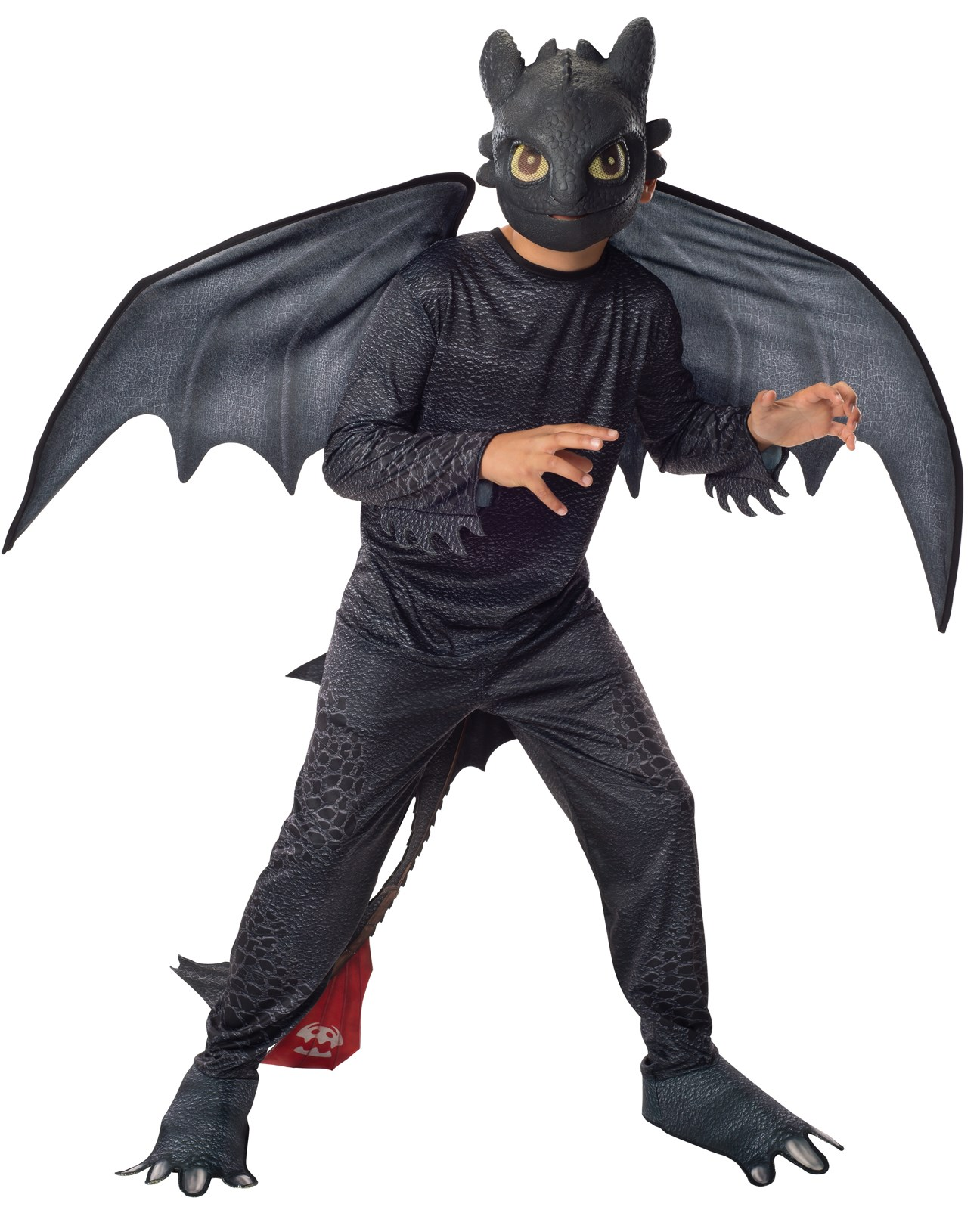 How to Train Your Dragon 2 - Night Fury Toothless Child Costume Small (4-6)