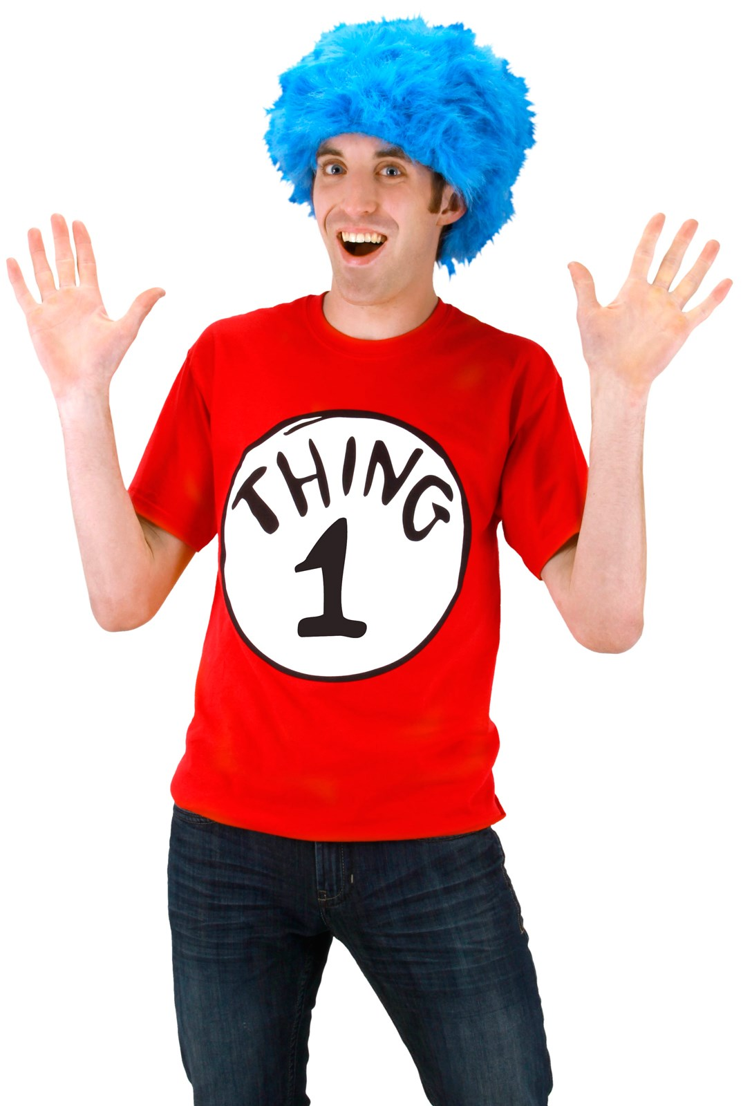 Dr. Seuss Cat In The Hat -Thing 1 Tee Shirt Kit Large