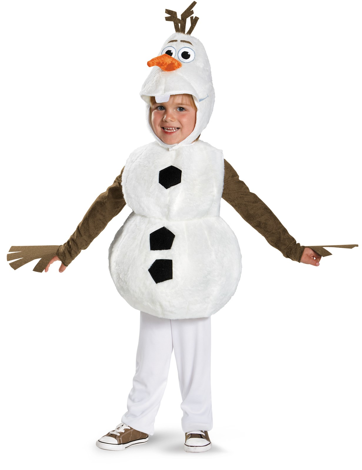 Frozen - Olaf Deluxe Baby / Toddler Costume 3T-4T