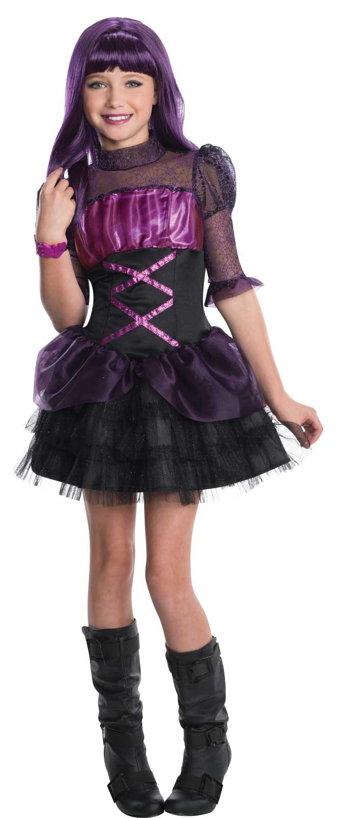 Monster High Elissabat Kids Costume Medium (8/10)