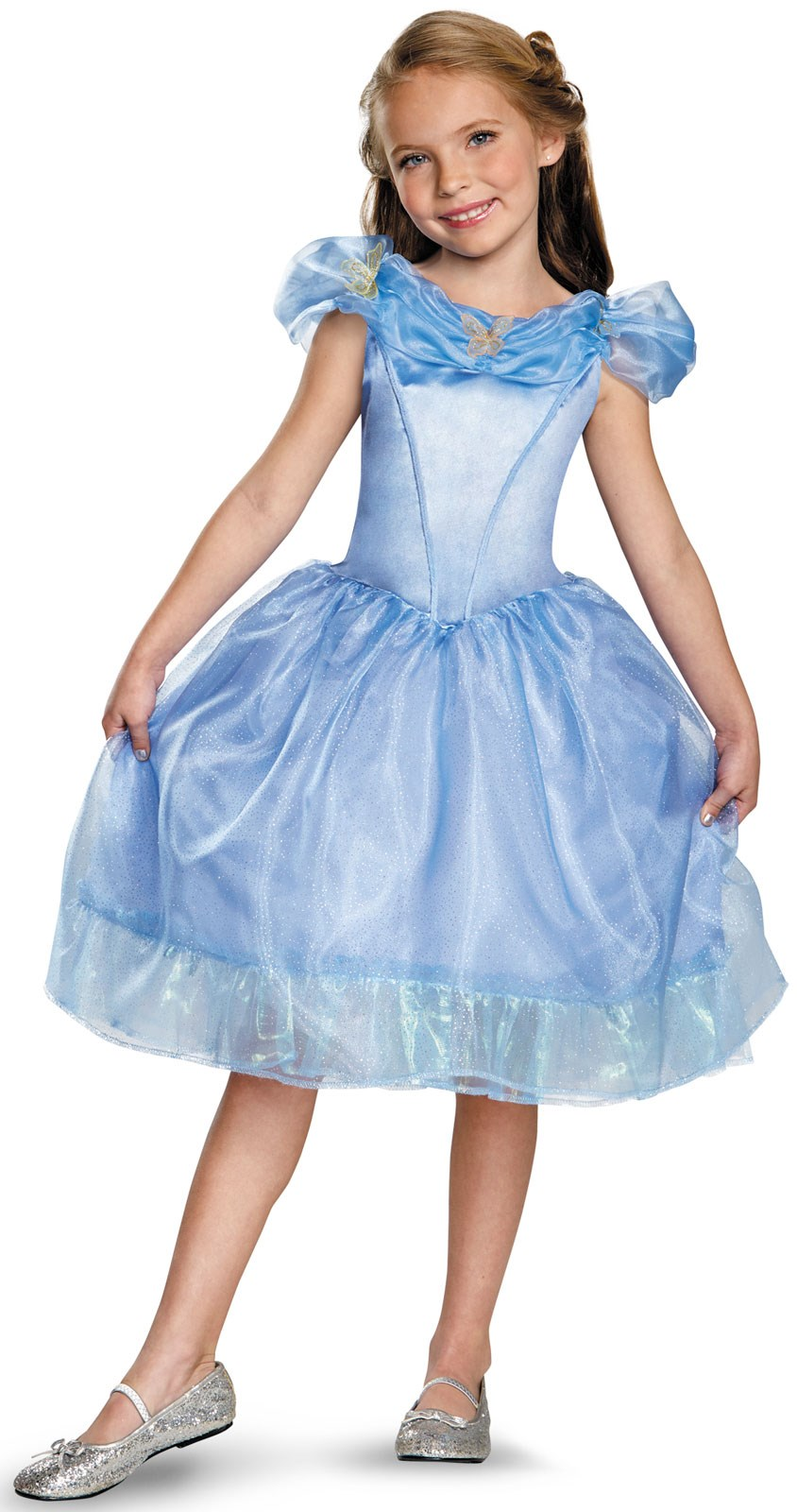 Disney Cinderella Movie Kids Outfit 4-6X
