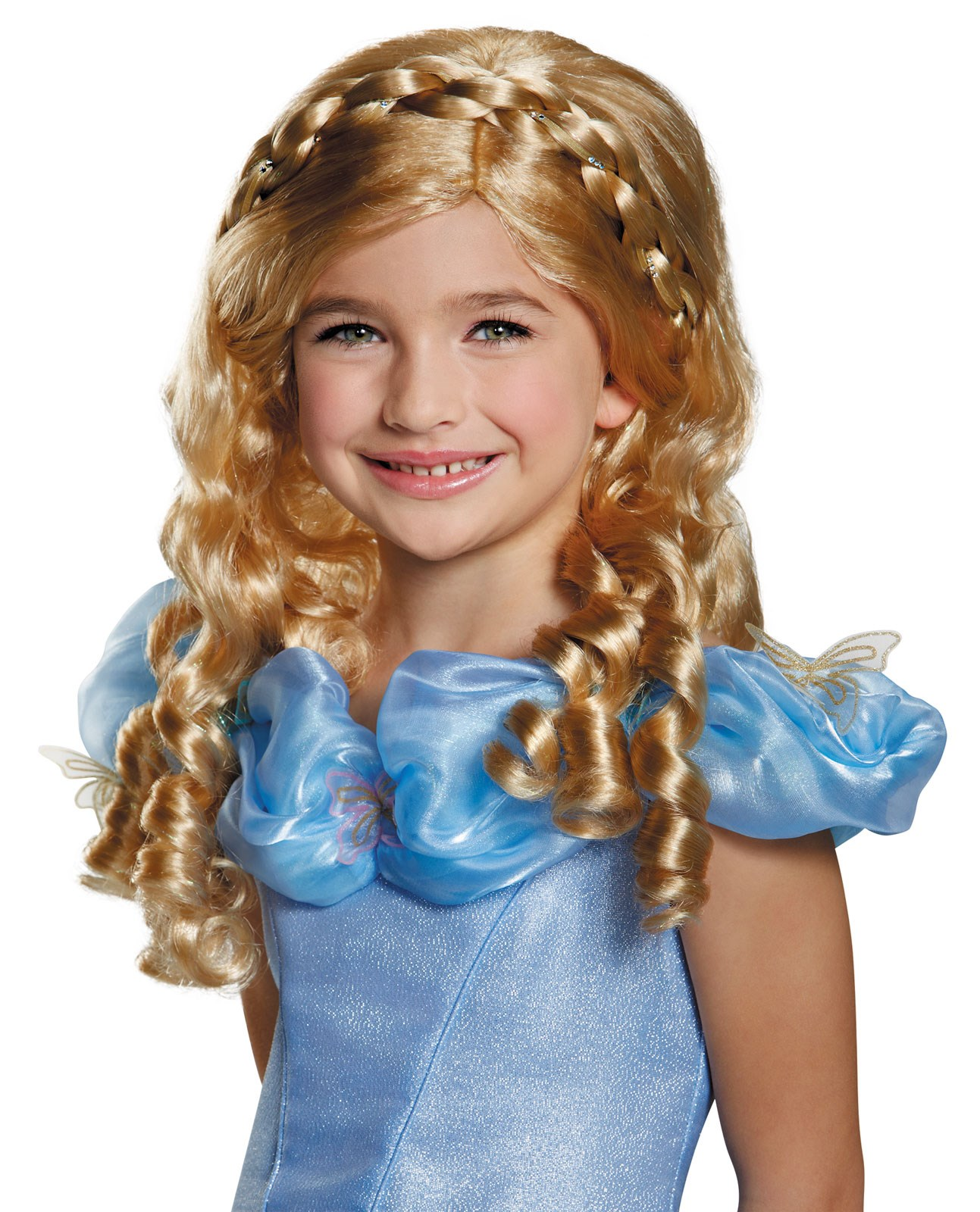 Disney Cinderella Movie Wig for Kids Standard One-Size
