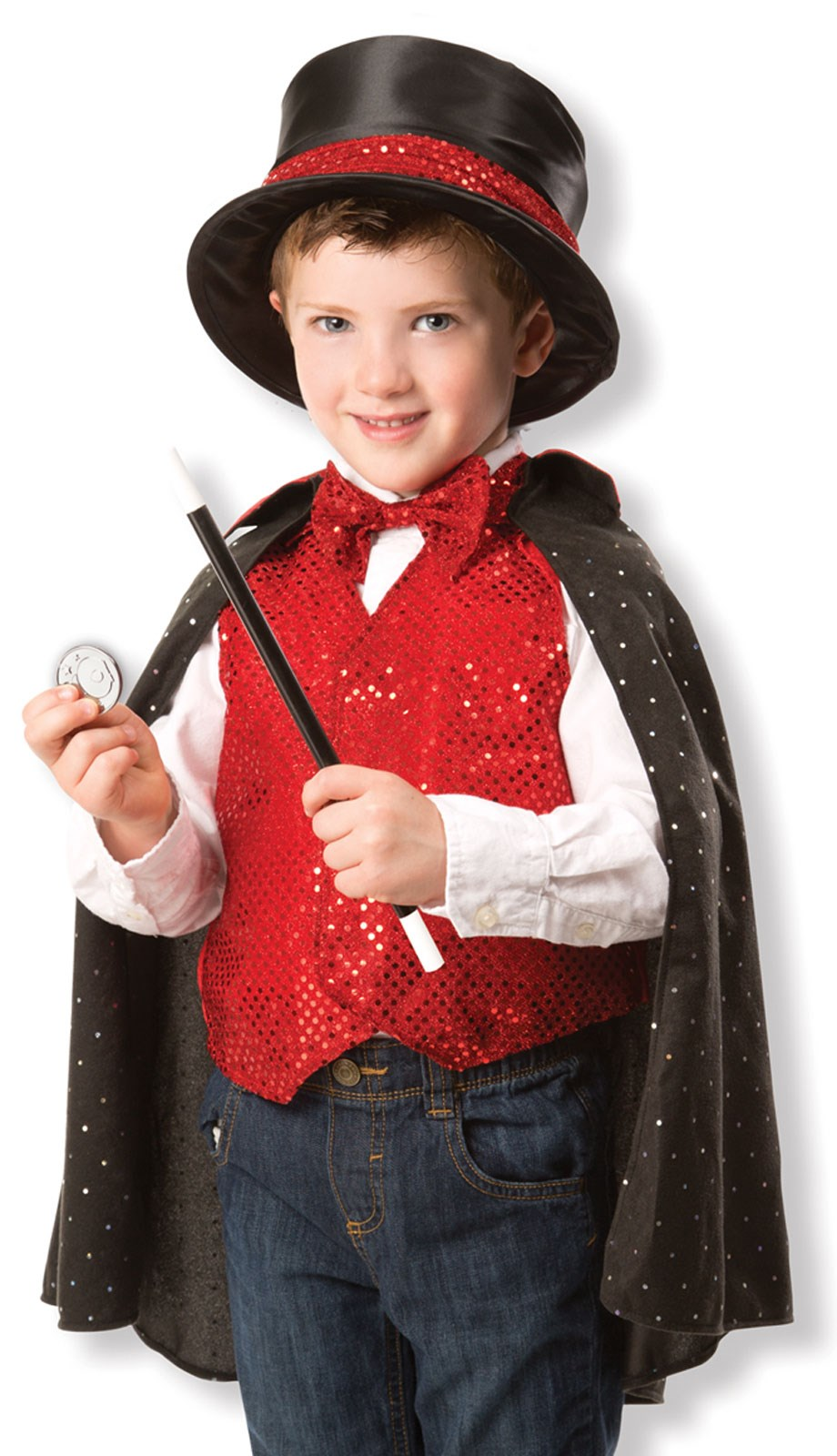 Melissa Doug Magician Outfit For Kids One-Size (3-6 years)