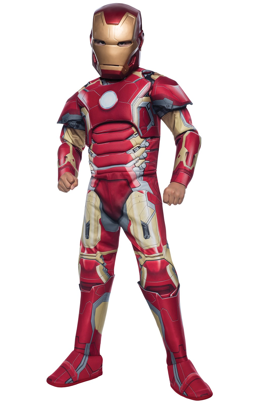 Avengers 2: Age of Ultron Deluxe Kids Iron Man Mark 43 Costume Large (12-14)