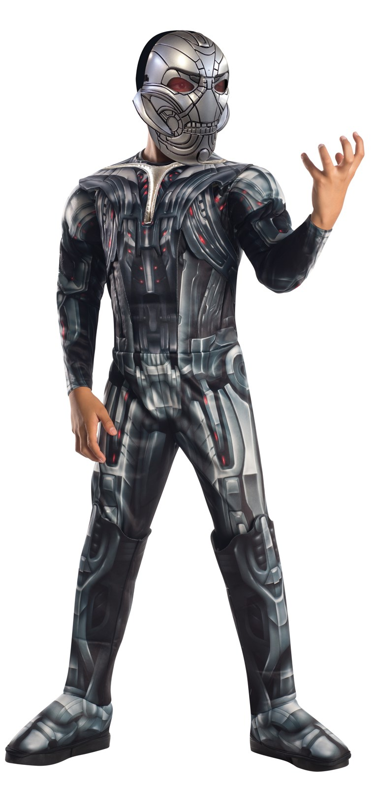 Avengers 2 - Age of Ultron: Deluxe Ultron Costume For Kids Small (4-6)