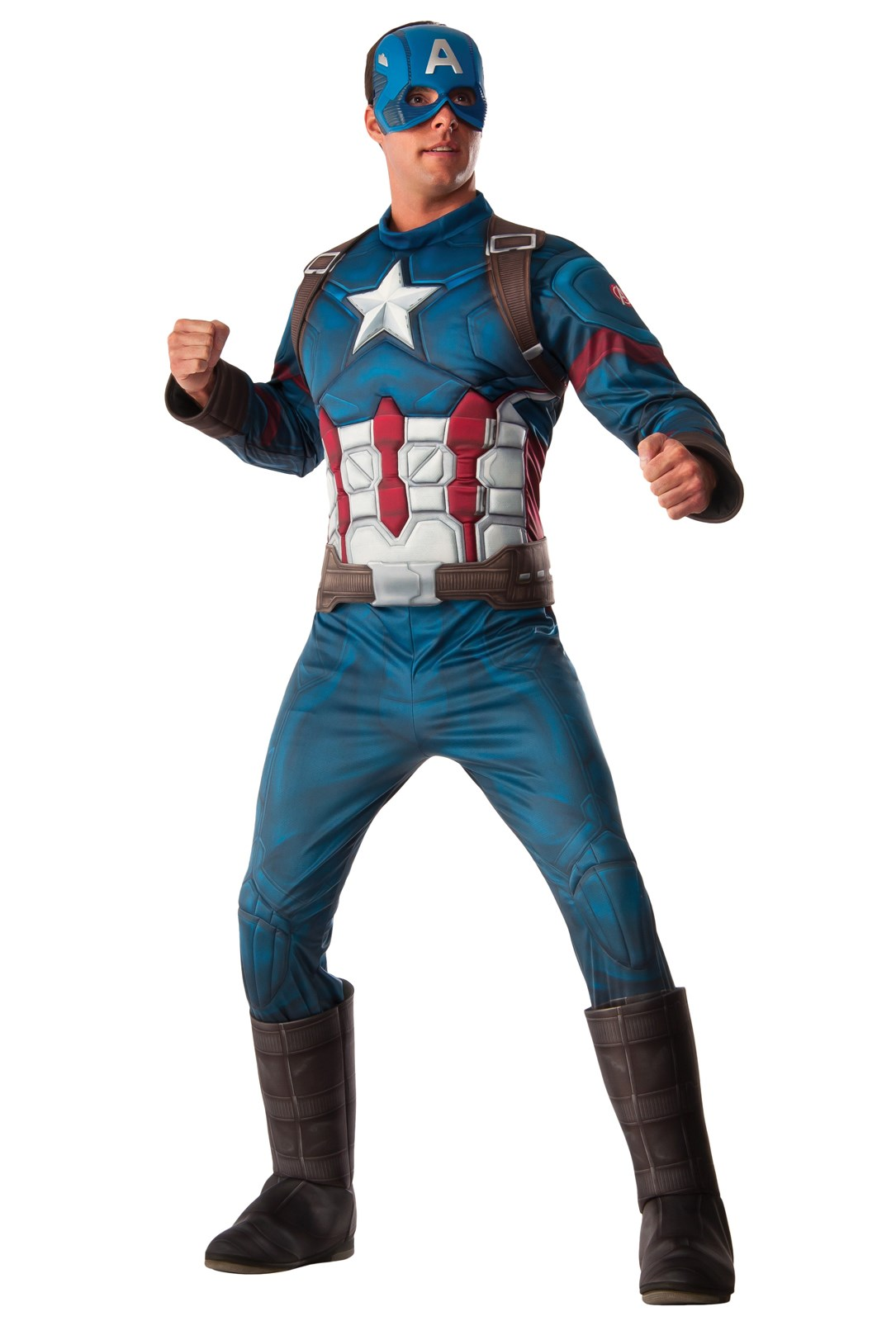 Avengers 2 - Age of Ultron: Captain America Deluxe Costume For Adults One-Size