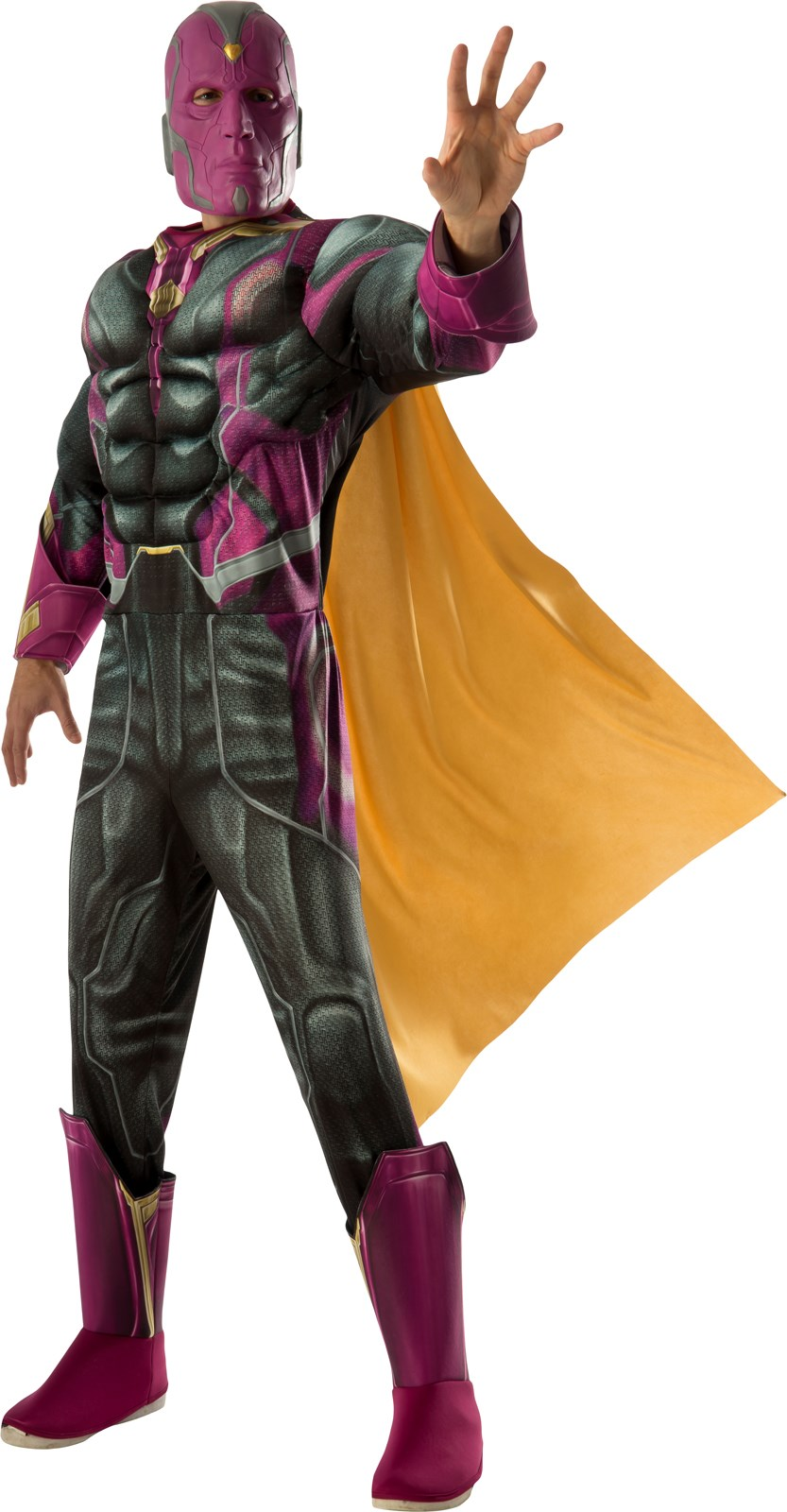 Avengers 2 - Age of Ultron: Deluxe Vision Adult Costume X-Large (42-46)