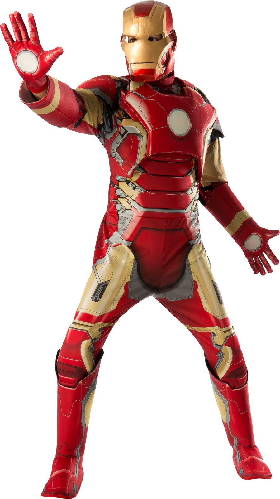 "Avengers 2 - Age of Ultron: Iron Man ""Mark 43"" Deluxe Costume For Adults X-Large (42-46)"