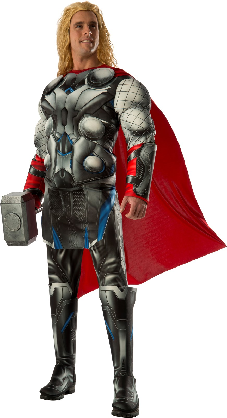 Avengers 2 - Age of Ultron: Mens Deluxe Thor Costume One-Size