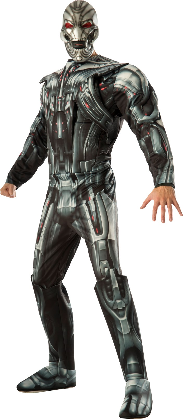 Avengers 2 - Age of Ultron: Mens Ultron Deluxe Costume X-Large (42-46)