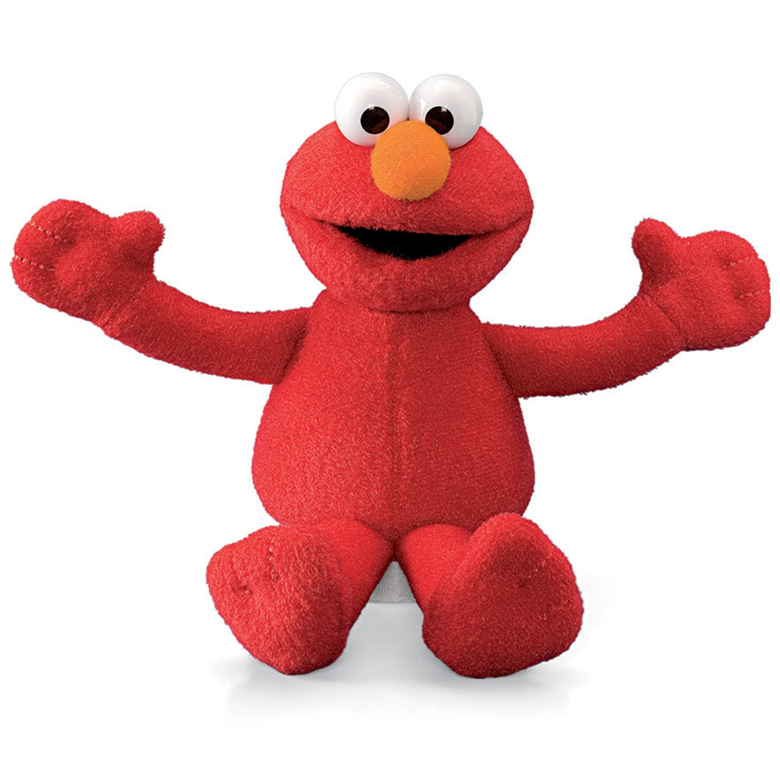 Elmo Mini Plush Beanbag