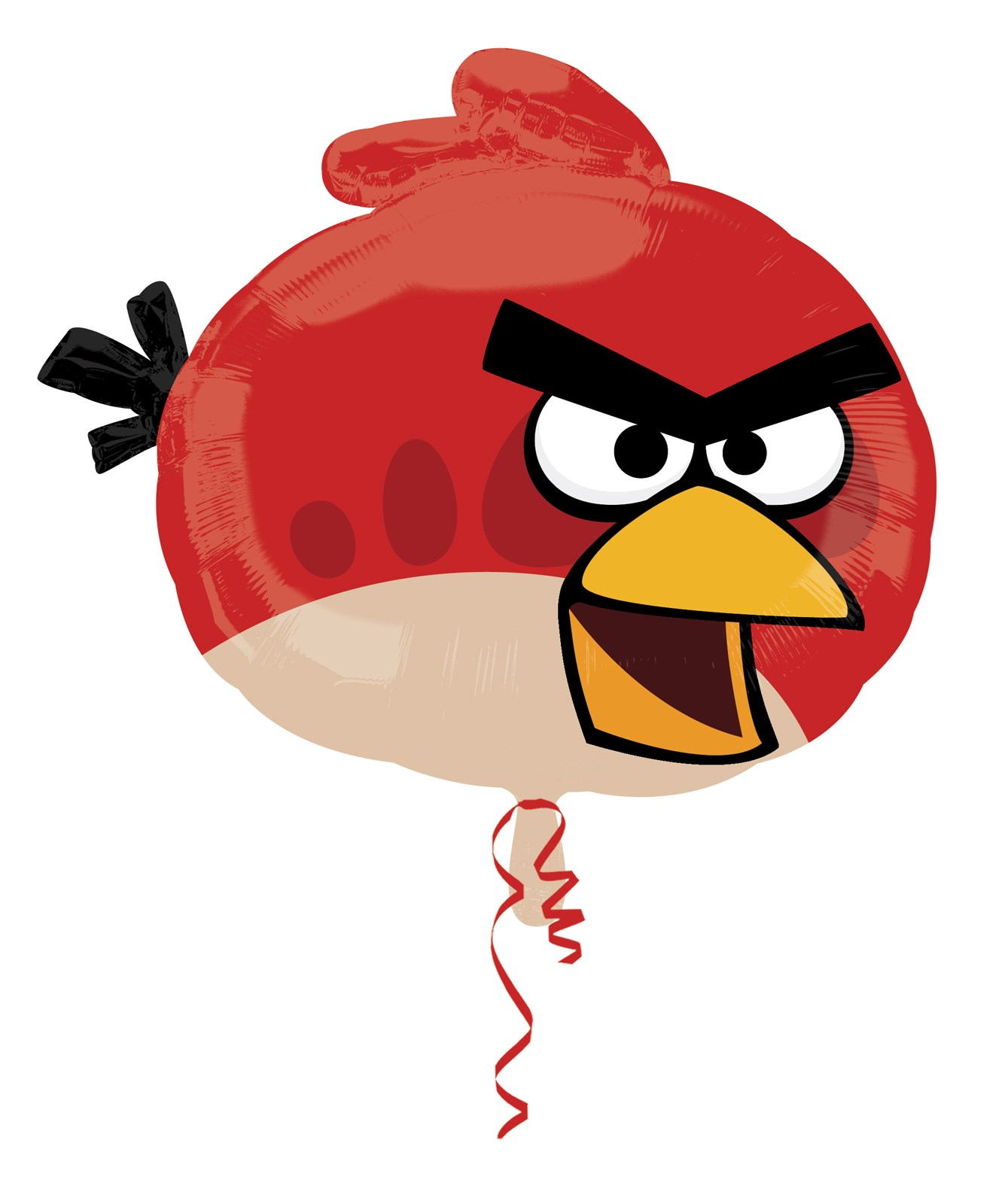 Image of Angry Birds Red Bird Foil Balloon