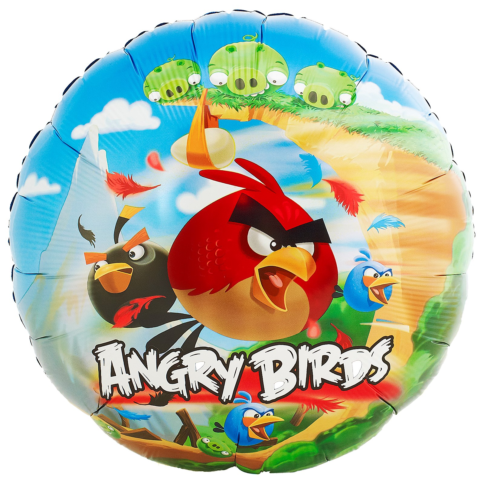 Image of Angry Birds Foil Balloon
