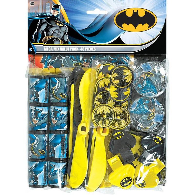 Batman Heroes and Villains Party Favor Value Pack