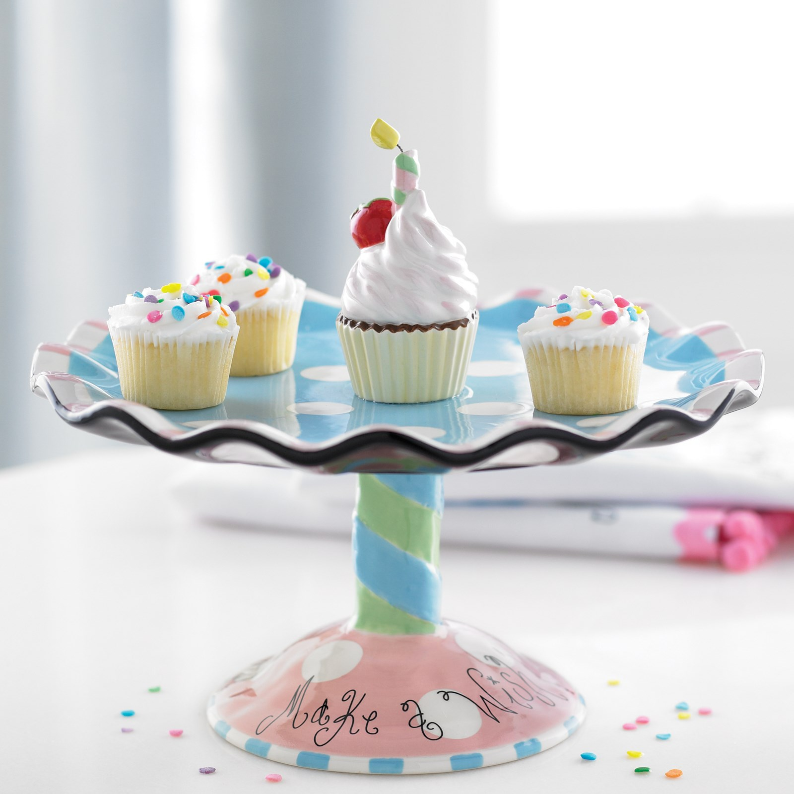 Image of Make A Wish Cupcake Stand