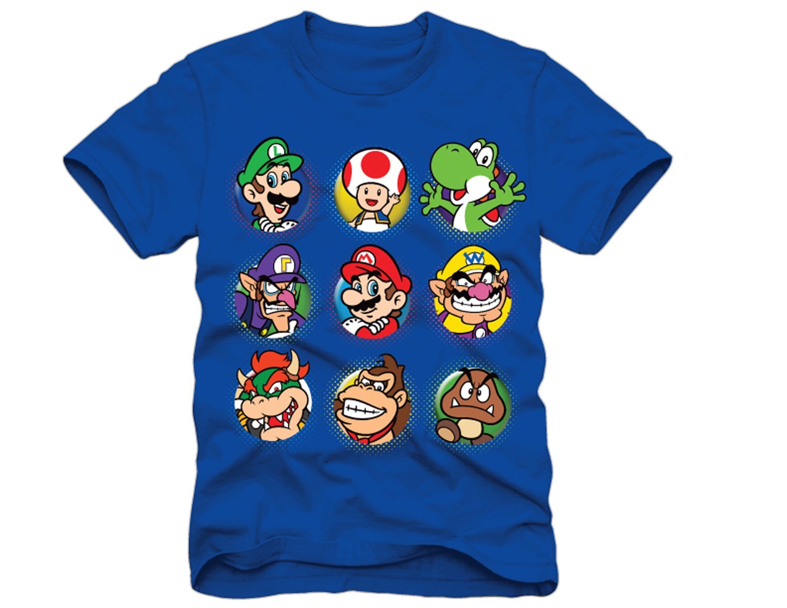 Image of Mario and Luigi T-Shirt 14