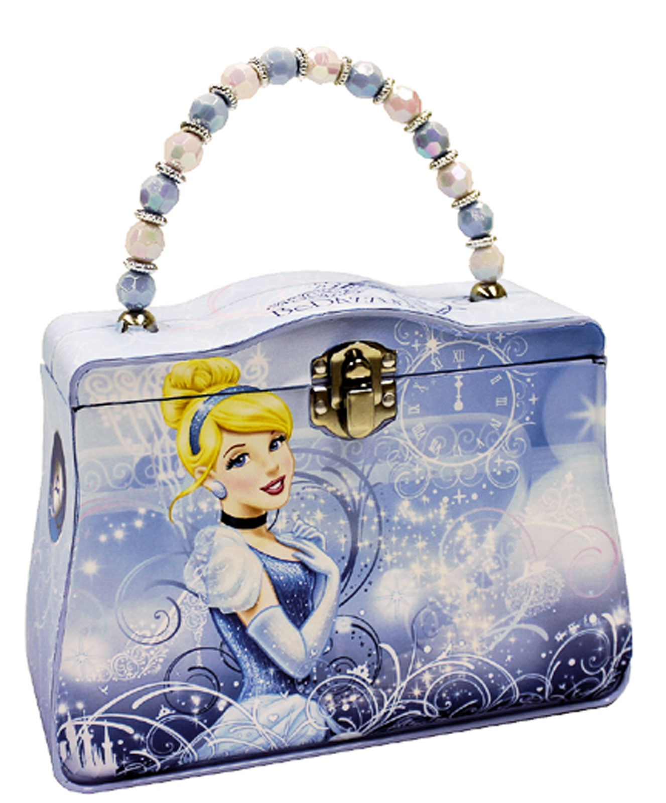 Disney Cinderella Tin Box Carry All