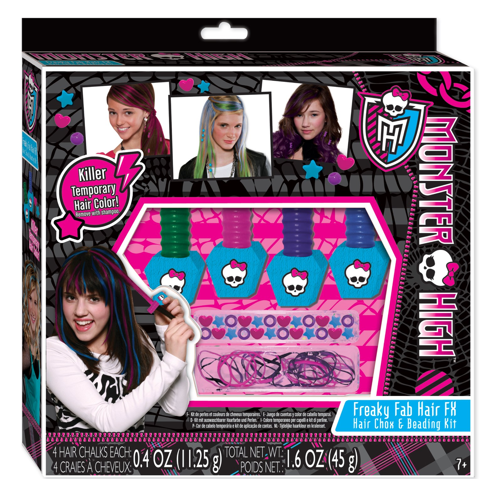 Image of Monster High Hair Chox and Beading Kit