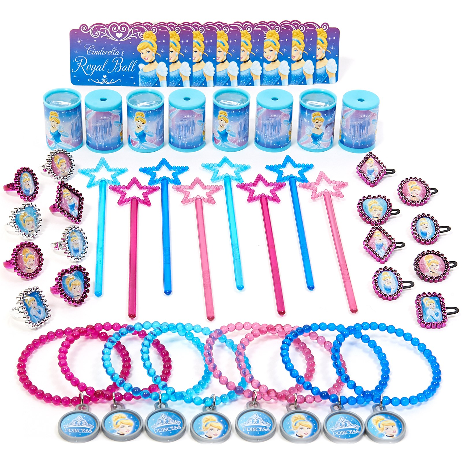 Disney Cinderella Sparkle Party Favor Value Pack