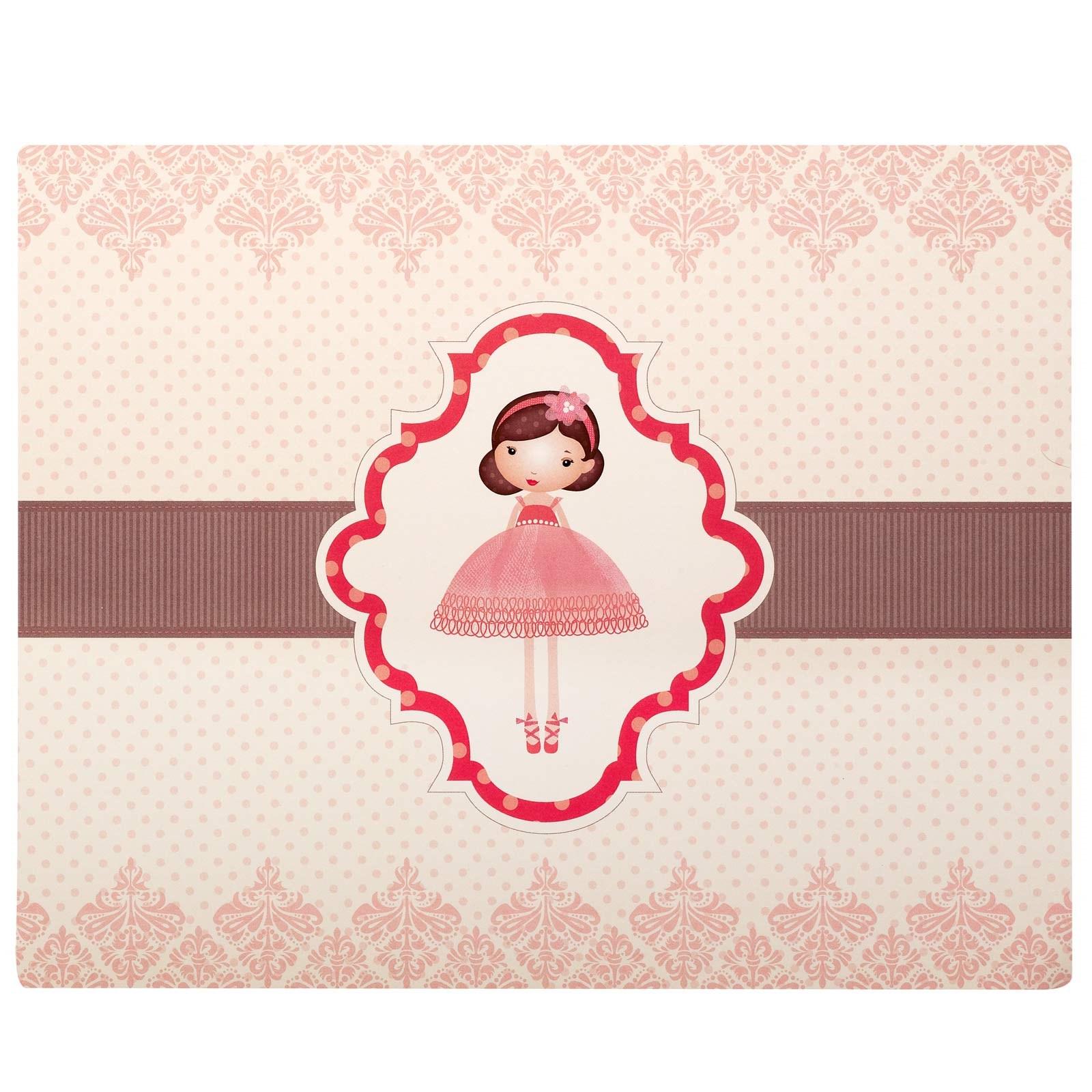 Image of Ballerina Tutu Activity Placemats