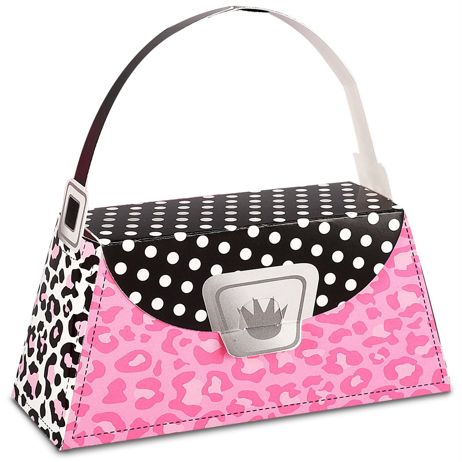 Diva Zebra Print Empty Favor Boxes (4)