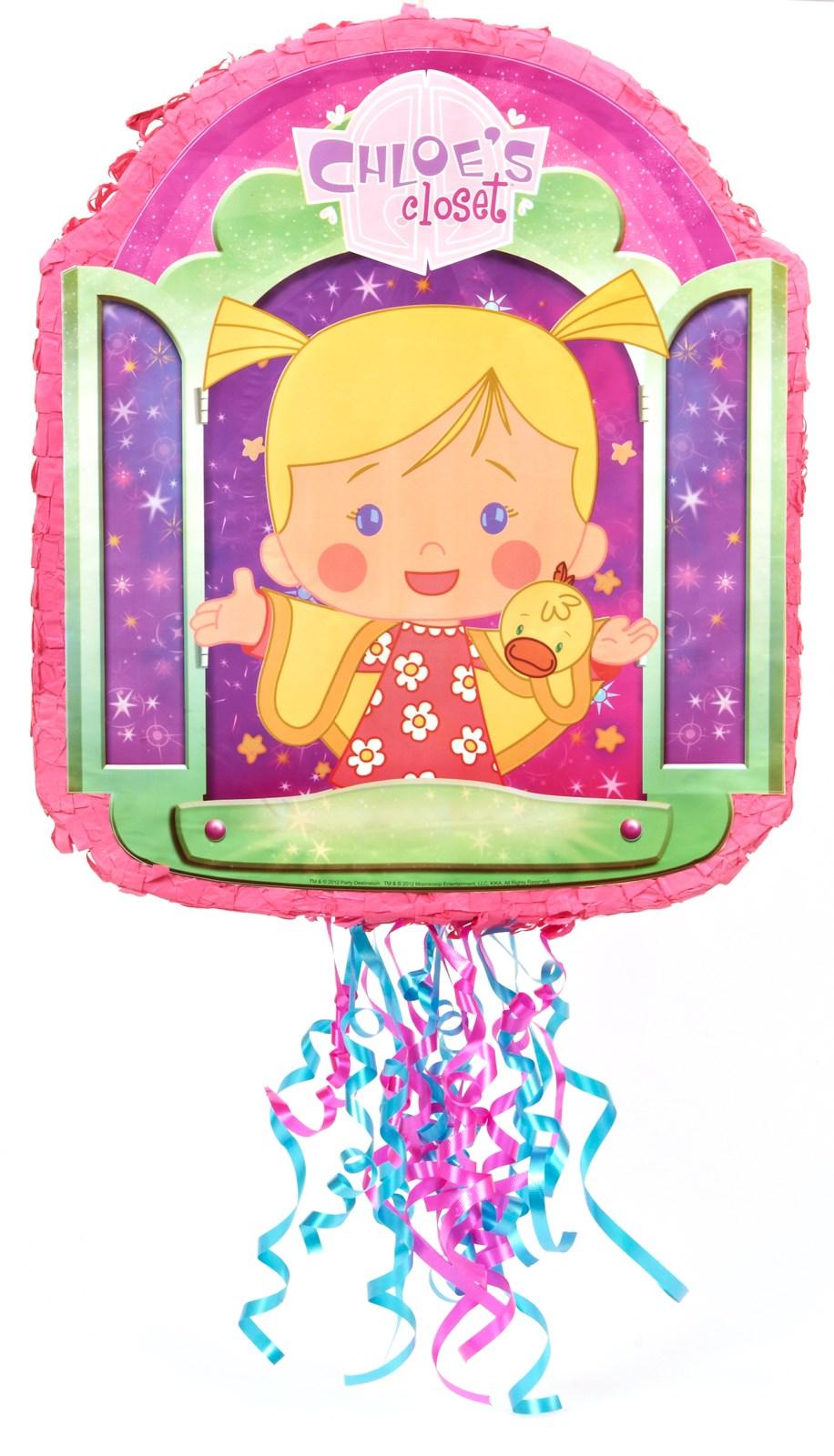 Image of Chloes Closet Pull-String Pinata