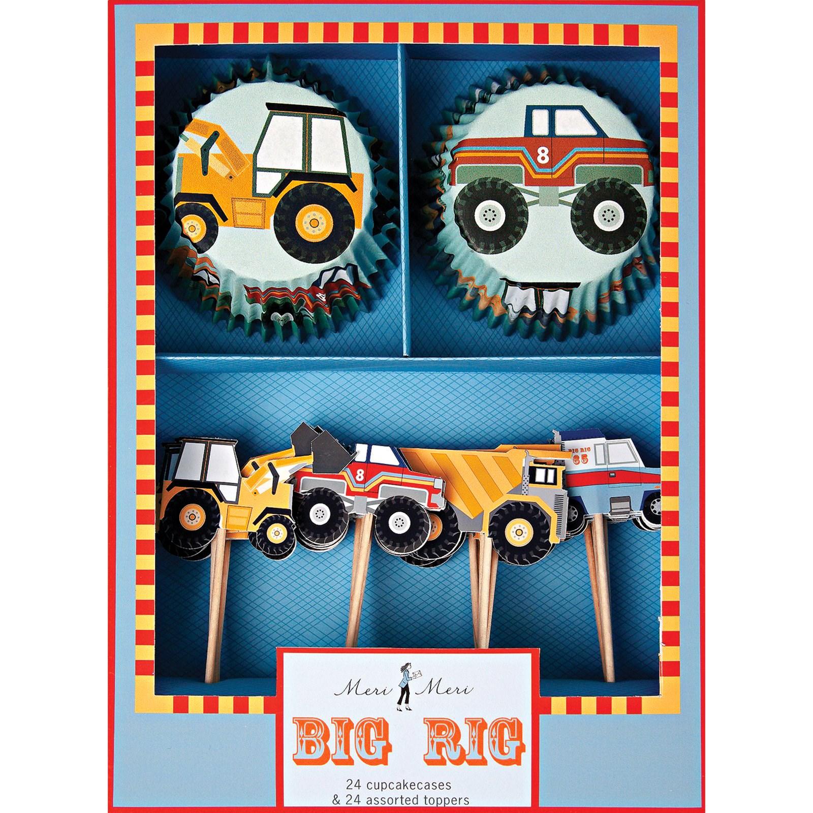 Image of Big Rig Cupcake Kit